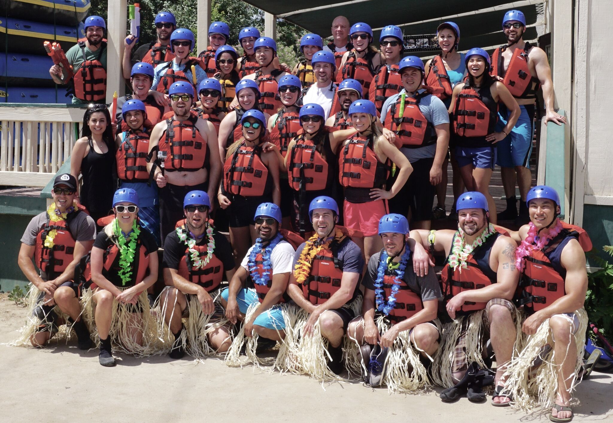 Resident Retreat 2017 - White Water Rafting